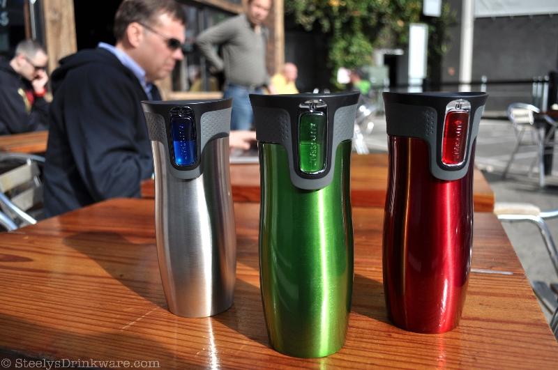 16 Oz Contigo Westloop Insulated Tumbler Steelys Drinkware