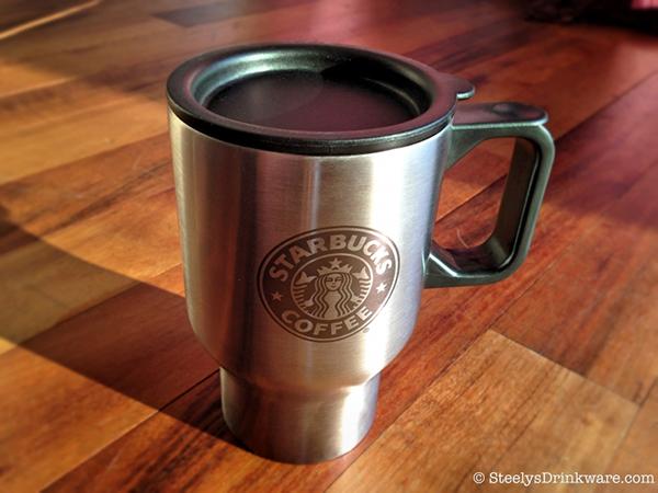 16 Oz Laser Engraved Insulated Traveler Mug Steelys