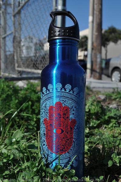 24 Oz Ez Twist Water Bottle Steelys Drinkware