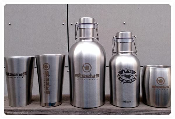 32 Oz Stainless Steel Growler Steelys Drinkware