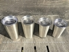 Clear-Plastic-Reusable-Cup-Lid-Steel-Cups