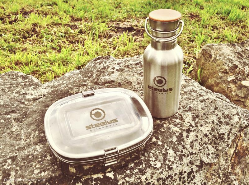 Large Split Level Lunchbox Steelys Drinkware