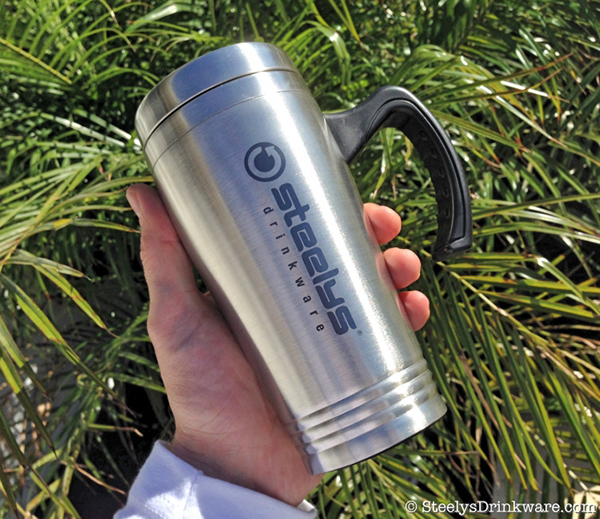 16 Oz Seattle Laser Engraved Tumbler With Handle Steelys