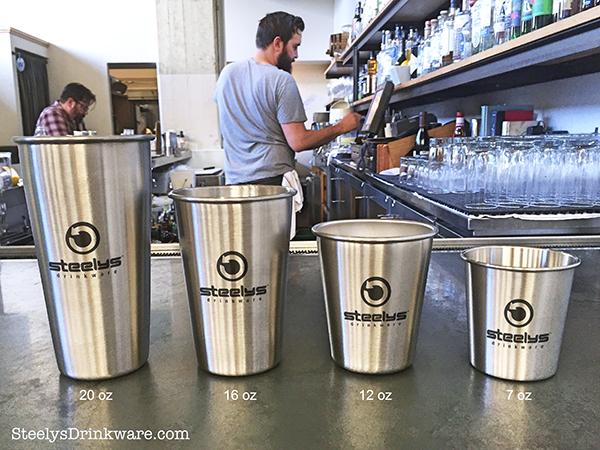 12 Oz Stainless Steel Cup Steelys Drinkware