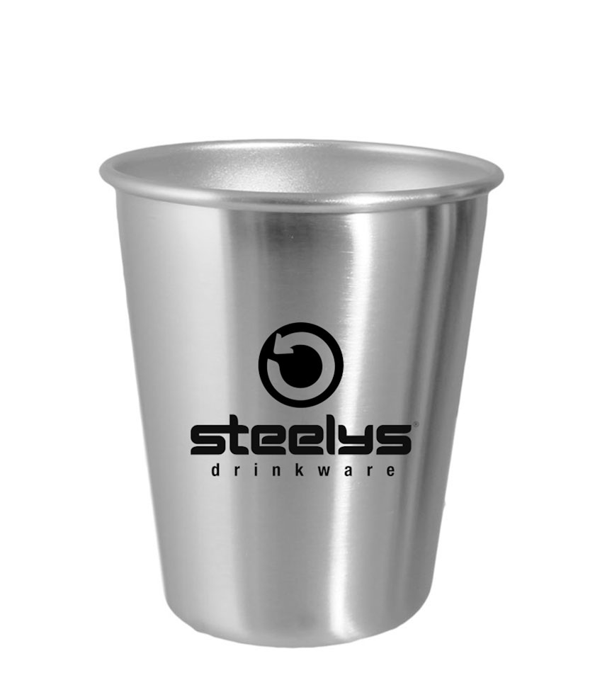 12 Oz Stainless Steel Cup Steelys Drinkware