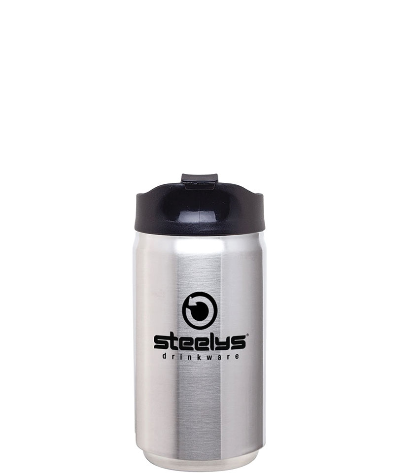 stainless steel insulated cups bottles tumblers  mugs  steelys  - steelys custom reusable stainless steel coffee tumbler