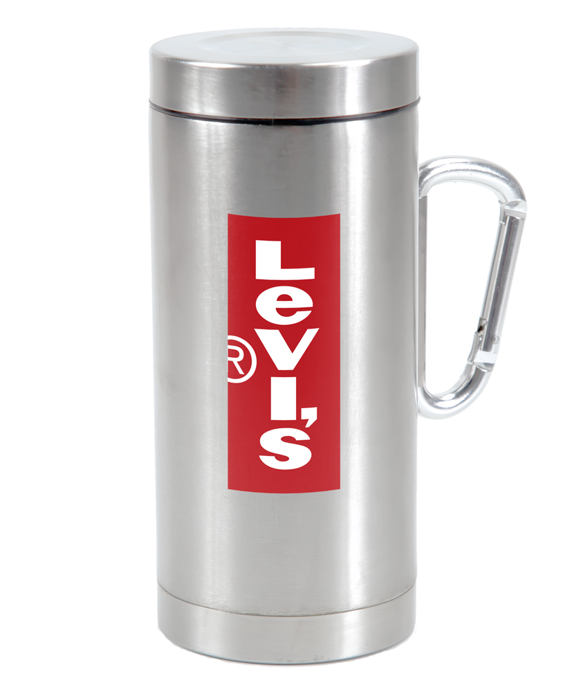 12 Oz Muir Tumbler With Carabiner Handle Steelys Drinkware