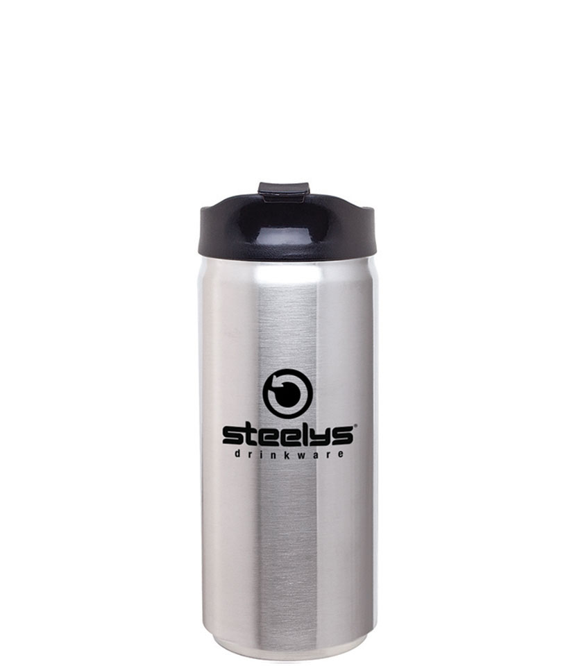 customized printed steelys stainless steel to-go tumbler