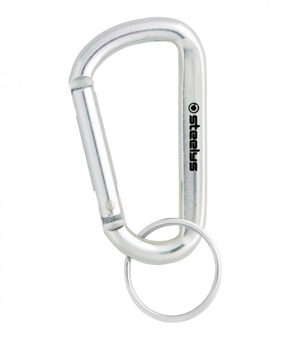 wholesale customized large silver carabiner