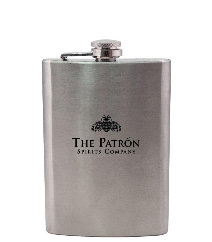 8 oz stainless steel flask steelys drinkware