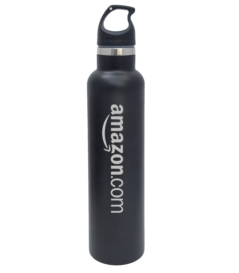 Personalized Stainless Steel Water Bottle 25oz GREEN Custom Engraved