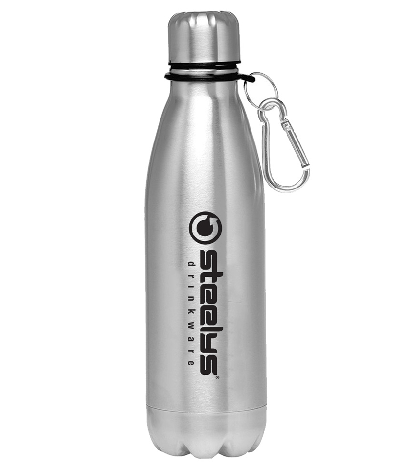 25 Oz Contour Sw Water Bottle With Carabiner Clip