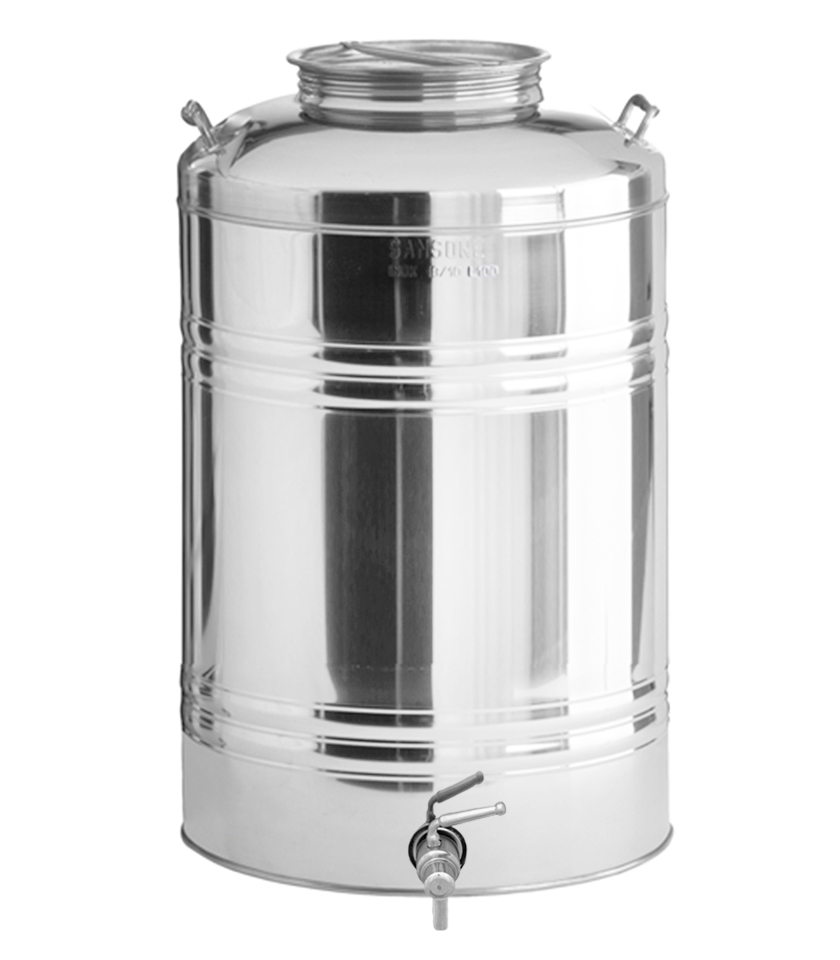 100 Liter Stainless Steel Water Serving Container With