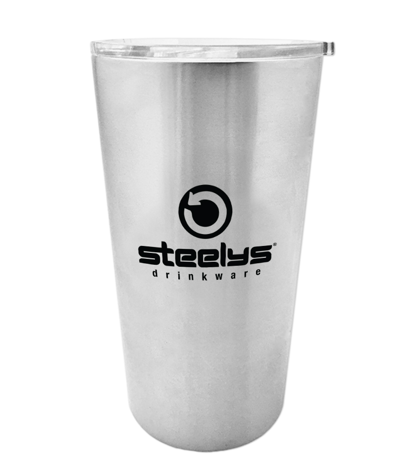 16 Oz Sasquatch Double Wall Tumbler With Lid Steelys