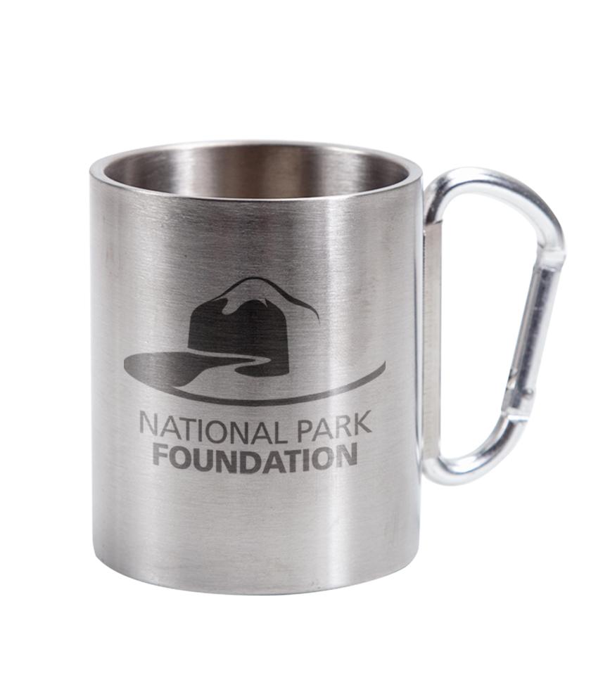 9 Oz Muir Mug With Carabiner Handle Steelys Drinkware